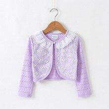 Верхняя одежда для маленьких девочек, хлопок, желтая куртка для маленьких девочек, кардиган, свитер для детей 12-24 месяцев, одежда для маленьких девочек, KC165004