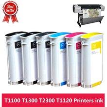 高品質インク 72 フル 130 ミリリットルインクカートリッジチップhp T610 T620 T770 T790 T795 T1100 T1120 t1200 T1300 T2300