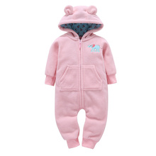 New Baby Rompers Winter Born Boy Girl Clothes Infant Warm Comfortable Jumpsuit Fashion Toldder Cotton Overalls coat