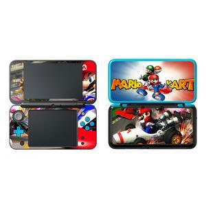 Image 2 - Super Mario Película protectora decorativa para Nintendo 2, 2DS, LL, XL, pegatina de piel de vinilo, etiqueta de protección