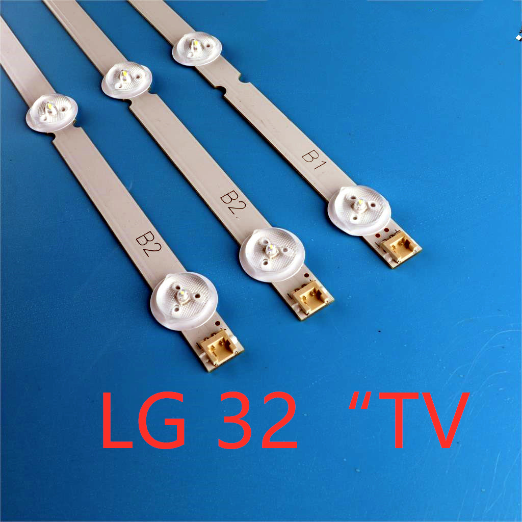 3pcs/set 630mm 7LEDs New Original 6916L-1437A 6916L-1438A For LG TV 32