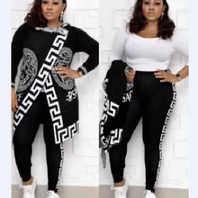 2 Two Piece Set Women track suit tops and pants hooded suit