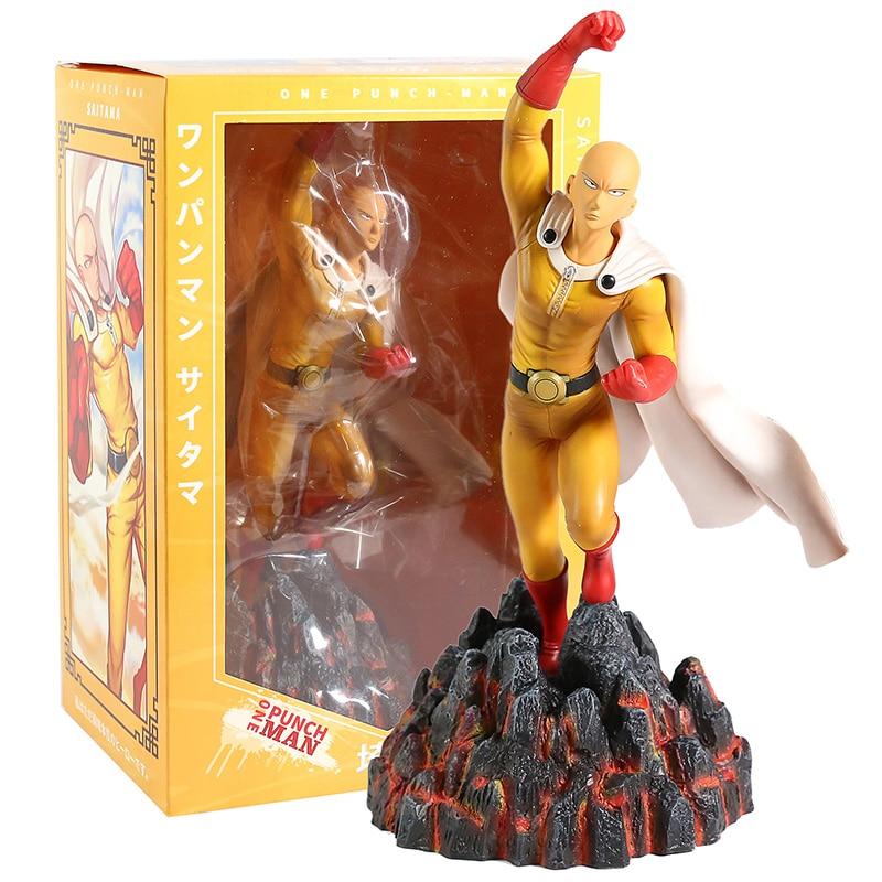 One Punch Man GK Saitama Sensei статуя ПВХ фигурка Коллекционная модель игрушки