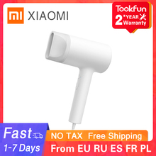 XIAOMI MIJIA Water ion Hair Dryer Home 1800W Nanoe hair care Anion Professinal Quick Dry Portable Travel Blow Hairdryer diffuser