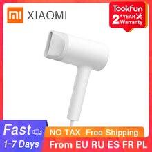 Xiaomi mijia água ion secador de cabelo casa 1800w nanoe cuidados com o cabelo anion professinal secagem rápida portátil viagem soprador difusor