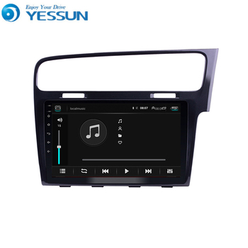 For Volkswagen Golf 7 right hand drive Car Android Multimedia Player Car Radio GPS Navigation Big Screen Mirror Link
