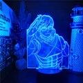 Светодиодный ночсветильник в стиле аниме «Моя геройская Академия»