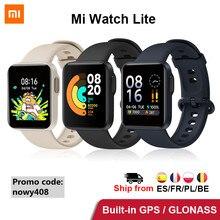 Xiaomi Mi izle Lite akıllı izle GPS Bluetooth Mi izle spor Smartwatch uyku monitör kalp hızı Mi Band küresel sürüm