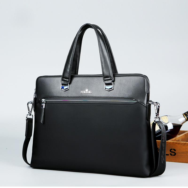 Crown New Style Handbag Business Briefcase Cross Men Crossbody Bag Computer Briefcase Handbag