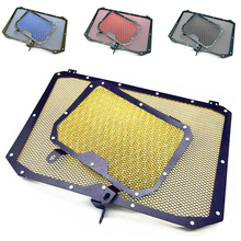 Motorcycle Radiator Grill Grille Guard Cover Protector Oil Water Cooler For Yamaha YZF-R1 YZF-R1M YZF R1 R1M 2015 2016 2017 for mt 09 mt09 motorcycle cnc aluminium radiator side guard grill grille cover protector for yamaha yzf r1 yzf r6 fz1 fazer r6s