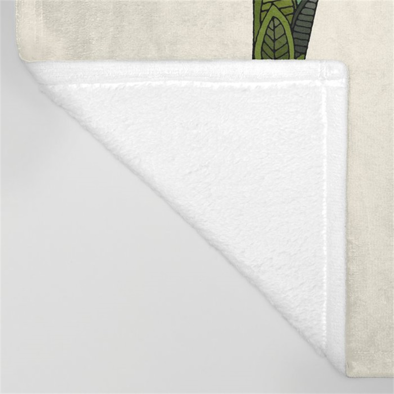greyhound ivory Throw Blanket 432