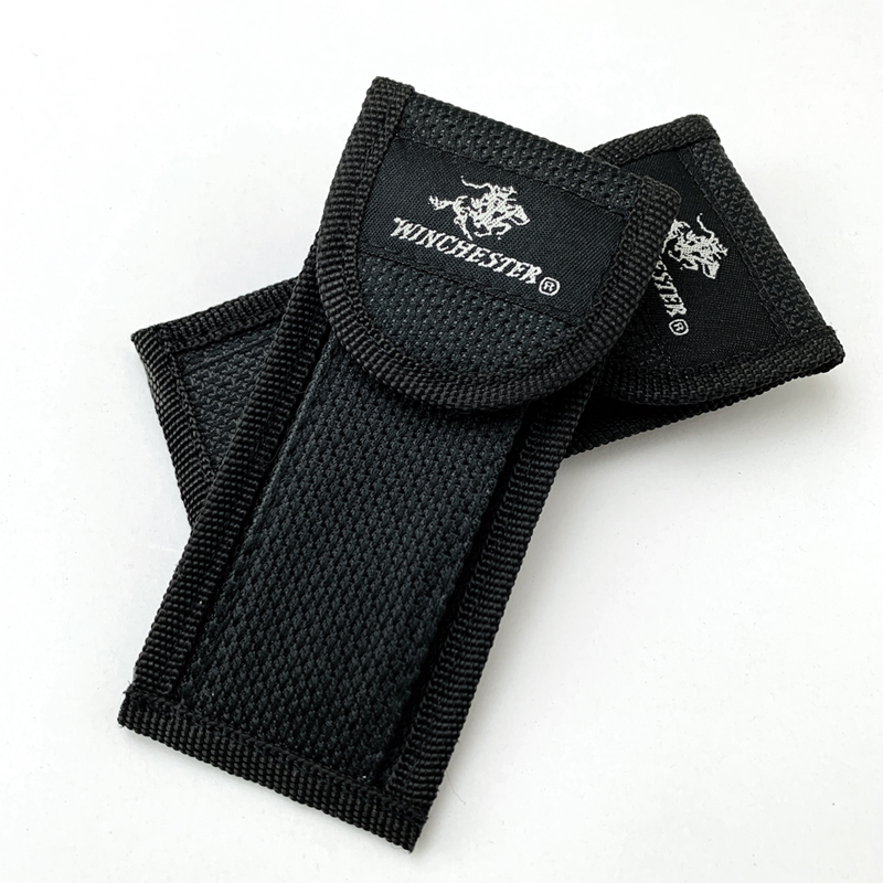 1Piece Universal Nylon Bag Folding Knife Sheath Nylon Oxford Textile Bag Pocket Knife Storage Bag Multi Knife Sheath