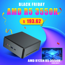 HTPC Computer Graphic Gaming Pc Mini Pc Vega R7 2700u R5 3550h Amd Ryzen Cheapest Windows-10