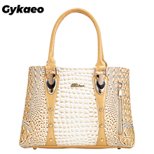 Gykaeo Famous Brand Women Handbags Ladies Hand Bags Luxury H