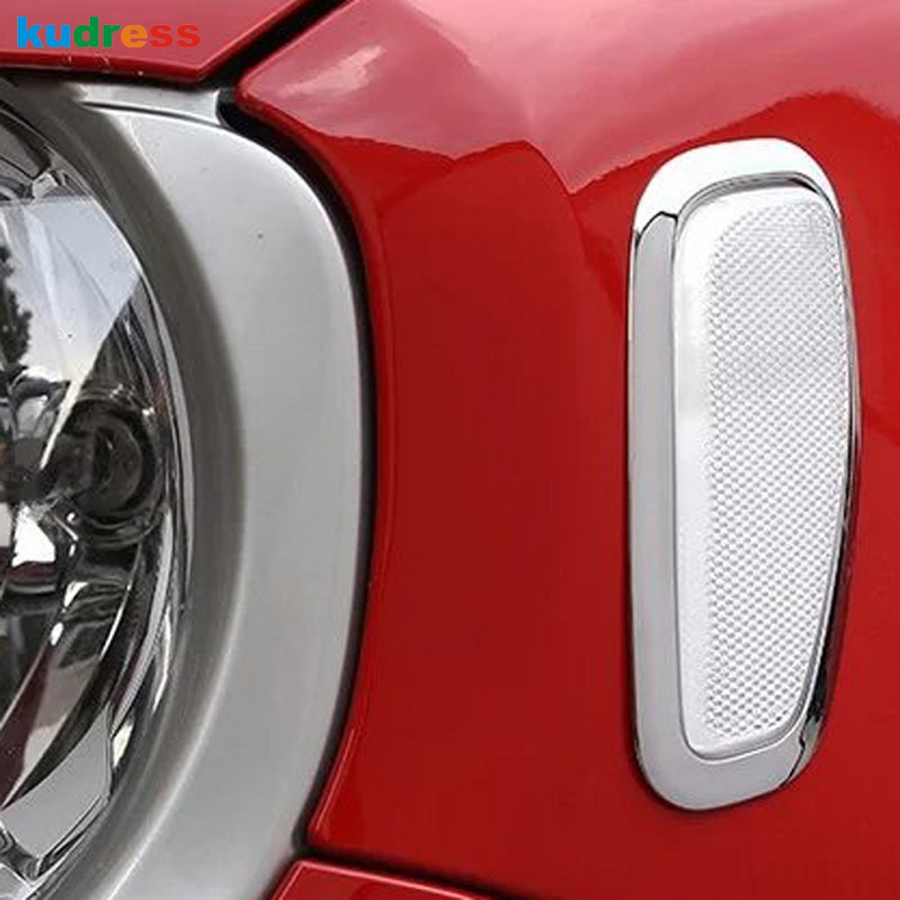 For 2015 2016 2017 2018 Jeep RENEGADE Chrome Mirror COVERS W// Turn Signal Hole