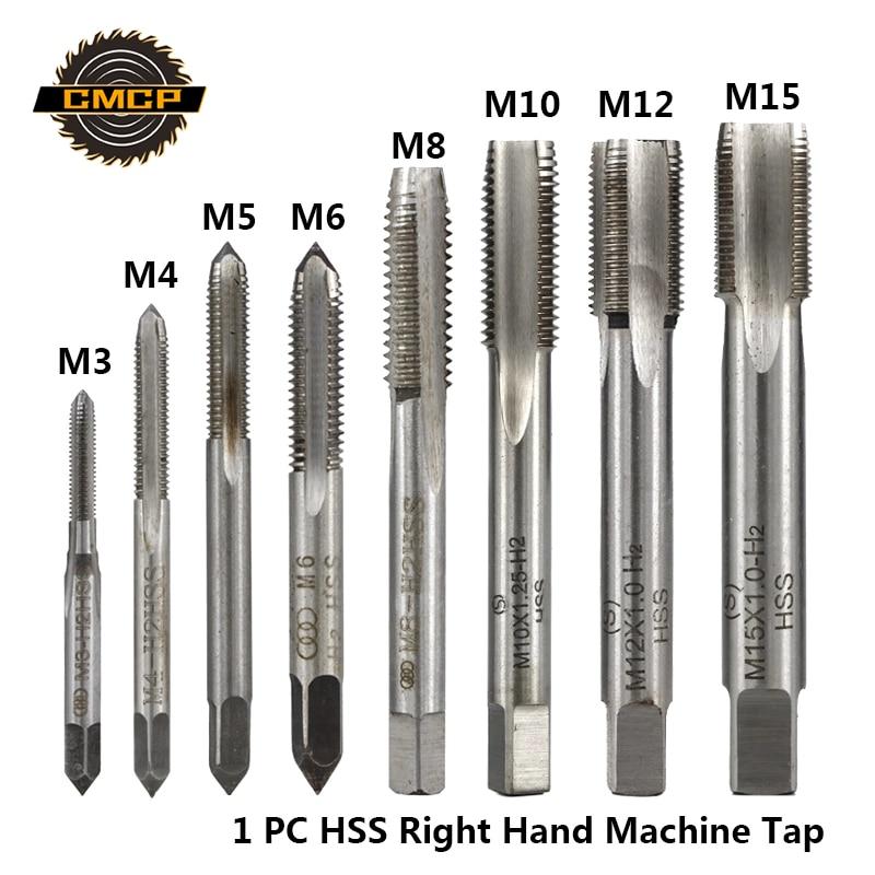 1pc HSS Machine M9 X 0.75mm Plug Tap and 1pc M9 X 0.75mm Die Threading Tool