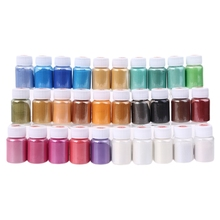 30 Colors Cosmetic Grade Pearlescent Natural Mica Mineral Powder Epoxy Resin Dye