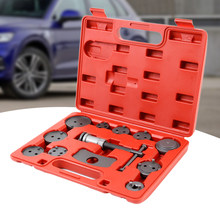 12pcs Universal Auto Car Precision Disc Brake Caliper Wind Back Tool Kit Brake Pad Brake Pump Brake Piston Car Repair Tool Kit(China)