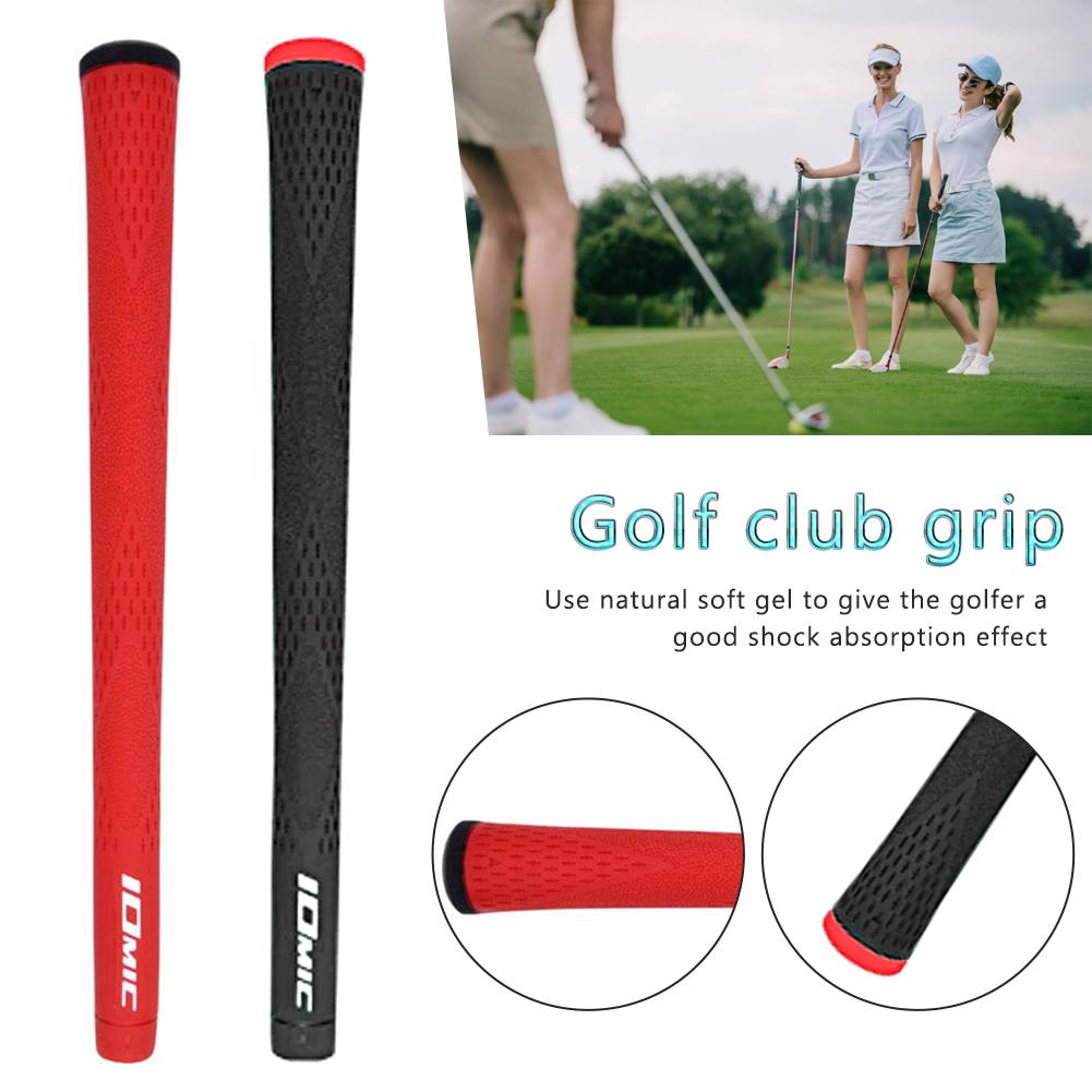 2019 New Golf Club Grip Golf Soft Rubber Alloy Carbon Grips Anti-slip Anti-shock Pro Golf Protection Outdoor Sports Accessories