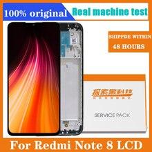 6.3 عرض ل Xiaomi Redmi ملاحظة 8 LCD عرض شاشة اللمس محول الأرقام redmi ملاحظة 8 إصلاح أجزاء