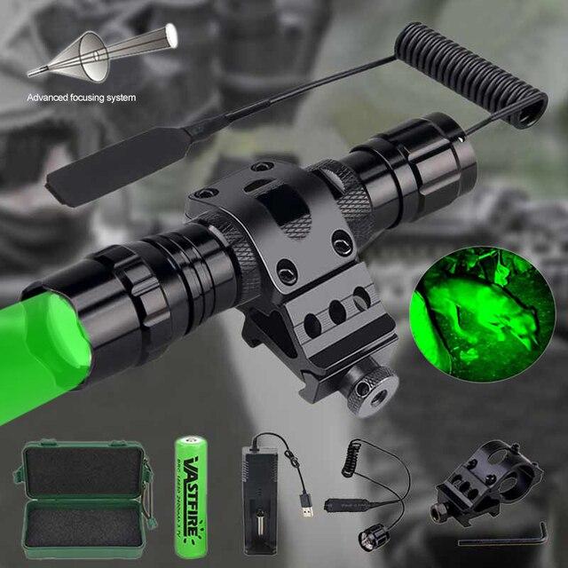 18650 лм масштабируемый светодиодный тактический светильник
