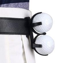 Портативный поворотный складной пластик гольф зажим гольф мяч держатель зажим органайзер игрок в гольф гольф спорт тренировка инструмент аксессуары