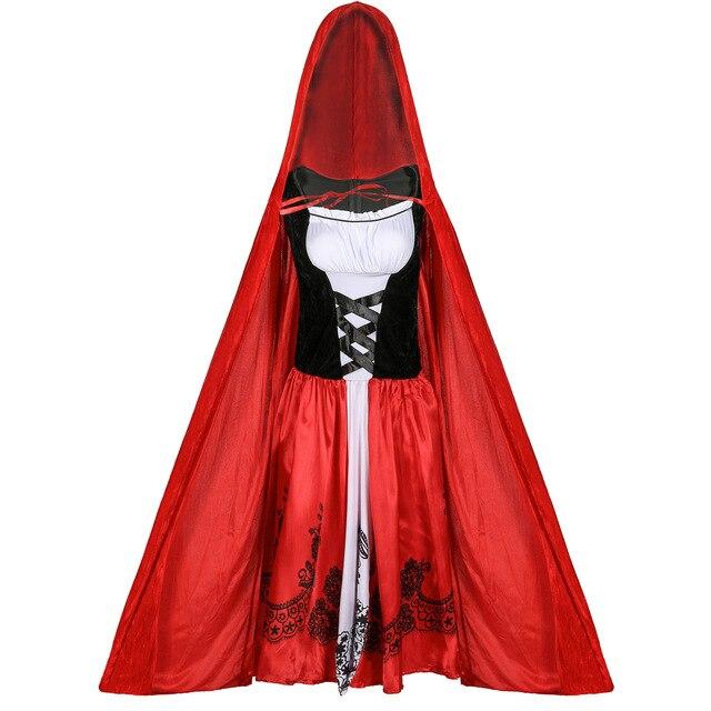 Купить s 3xl толще с маленькой красной накидкой капюшоном платье красное картинки цена