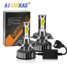 AICARKAS LED Car 60W 8000LM 6000K Auto Headlight Bulbs H7 H8 H11 H1 H3 H4 H27 880 H13 9004 9007 9012 12V 24V Fog Light