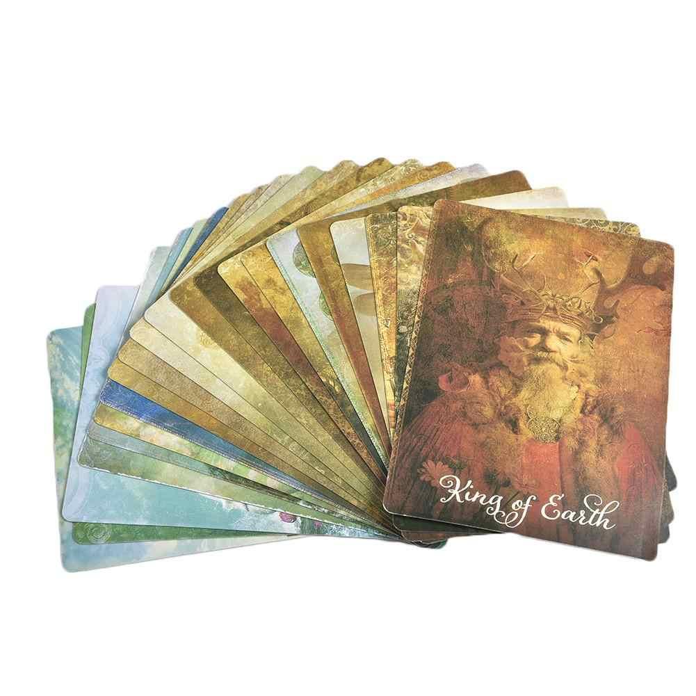 78 Pcs/set Bahasa Inggris Yang Baik Kartu Tarot Colette Baron-Reid Acient Dek Tarot Kartu & Pesan Papan Permainan Kartu