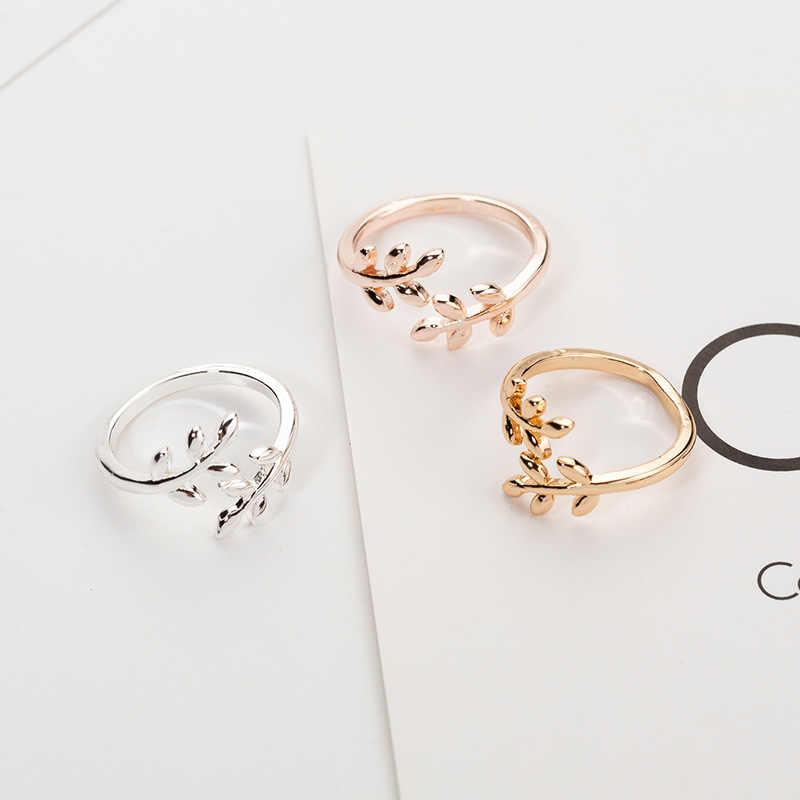 Anel de noivado do casamento da menina do sexo feminino anel de noivado ajustável anillos mujer