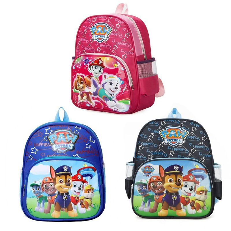 Paw Patrol Toys Set Action Figure Kids Bag School Cute Knapsack Canine Puppy Patrol Backpack Toys Paw Patrol Birthday Gift