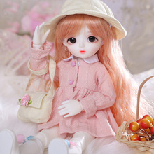 цена New arrival Baby Miu 1/6 bjd sd doll Fashion Mini toys For Girls Birthday Xmas Best Gifts  LCC онлайн в 2017 году