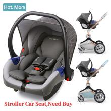 Автокресло группа 0+ для Hot Mom F22/F023/889 детская коляска, серый