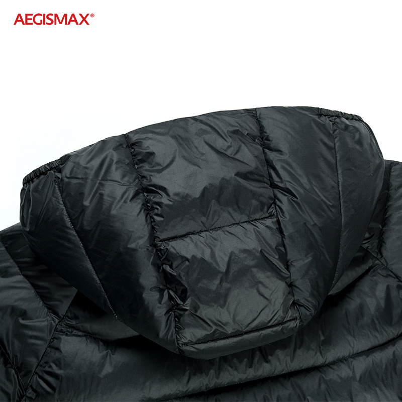 AEGISMAX Men Ultra-Light 95% White Goose Down 800FP Down Outdoor Camping Keep Warm Down Jacket-2