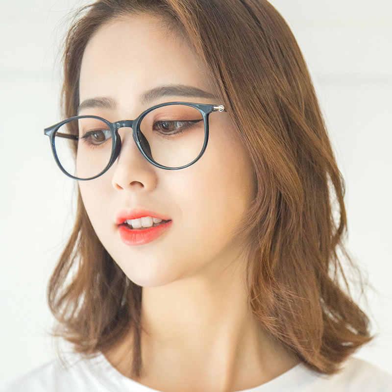 2019 original 100% de qualité supérieure caractéristiques exceptionnelles 2019 mode femmes ronde optique lunettes de vue pour femme ordinateur  lunettes cadre clair lentille Vintage lunettes Oculos
