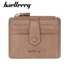 Baellerry Brand Luxury Man Wallets Card Purses Minimalist High Quality Leather B
