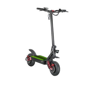 EcoRider E4-9 2 wheel electric foldable scooter with Liquid Crystal Display