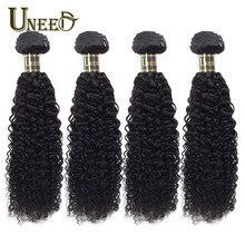 Tissage en lot péruvien Remy frisé bouclé – Uneed Hair, 100% cheveux humains, Extensions de cheveux, 10-28 pouces, peuvent être teints, 1 pièce