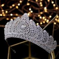 Luxury Crown Gorgeous Royal Tiaras Queen Crowns Bridal Headpiece Hair Jewelry Tocado Novia Wedding Hair Accessories Headband