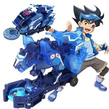 Screechers Hoang Dã nổ Lật biến đổi dán robot xe Anime nhân vật hành động Thợ Săn bắt chip eo trẻ em bé trai gái Đồ chơi