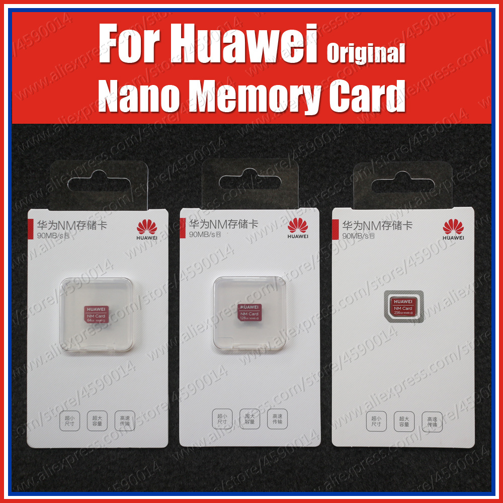 90MB/s Original Huawei NM Card Nano Memory 64GB/128GB/256GB Huawei Mate30 Mate 30 Pro P30 Pro Mate20 Pro X 5G Nova 5 Pro-in Phone Adapters & Converters from Cellphones & Telecommunications