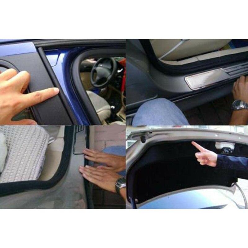 5M Big D-shape Window Door Rubber Seal Weather Strip Hollow Car Weatherstrip