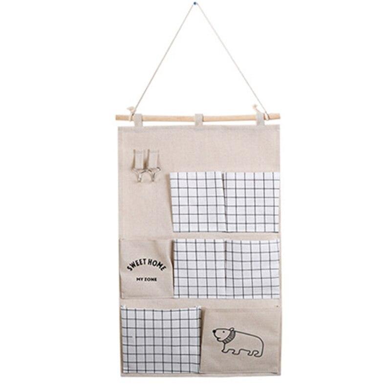 Carttoon настенная подвесная сумка для хранения в скандинавском стиле, органайзер для детской кроватки, декор для детской комнаты, детская игрушка, сумка для хранения подгузников, Домашний Органайзер - Цвет: 9