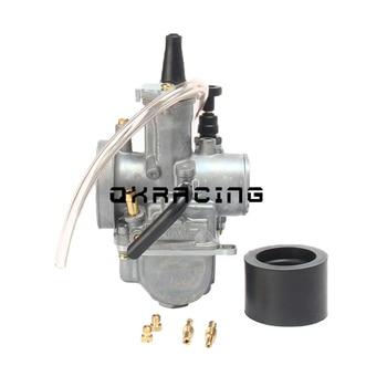Carburador Universal de motocicleta 2T 4T Carburador 21 24 26 28 30 32 34mm con chorro de potencia para Racing oko Moto