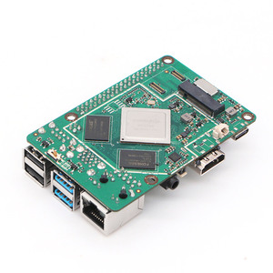 Image 3 - ROCK PI 4B V1.4 Rockchip RK3399 ARM Cortex Six Core SBC/Single Board Computer Compatible with Official Raspberry Pi Display