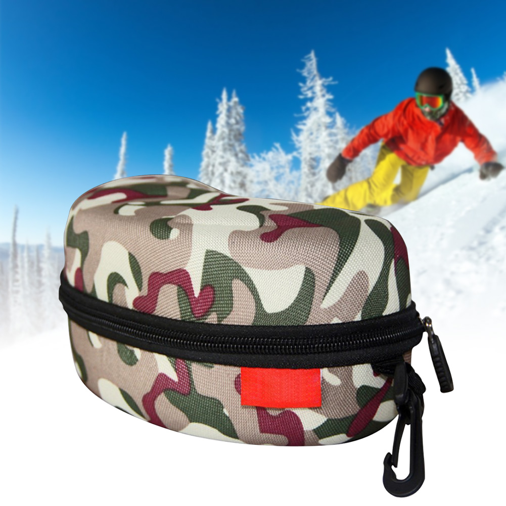 Scratch Resistant Carrying Waterproof With Buckle Hard Outdoor EVA Glasses Protector Portable Sports Ski Goggle Case Climbing