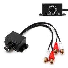 Adapter Audio-Amplifier Volume-Control-Knob Universal-Accessories Bass-Boost Remote Interior