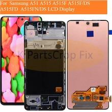 Per Samsung Galaxy A51 display lcd con Assemblea Sensore Per Samsung A51 Display A515 display lcd A515F A515F/DS, a515FD A515FN/DS