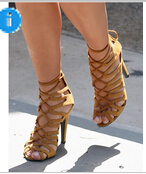 Roman Gladiator Bandage Sandals Women Nude sandalias femininas Women Shoes Girls Summer hollow Ankle Boot