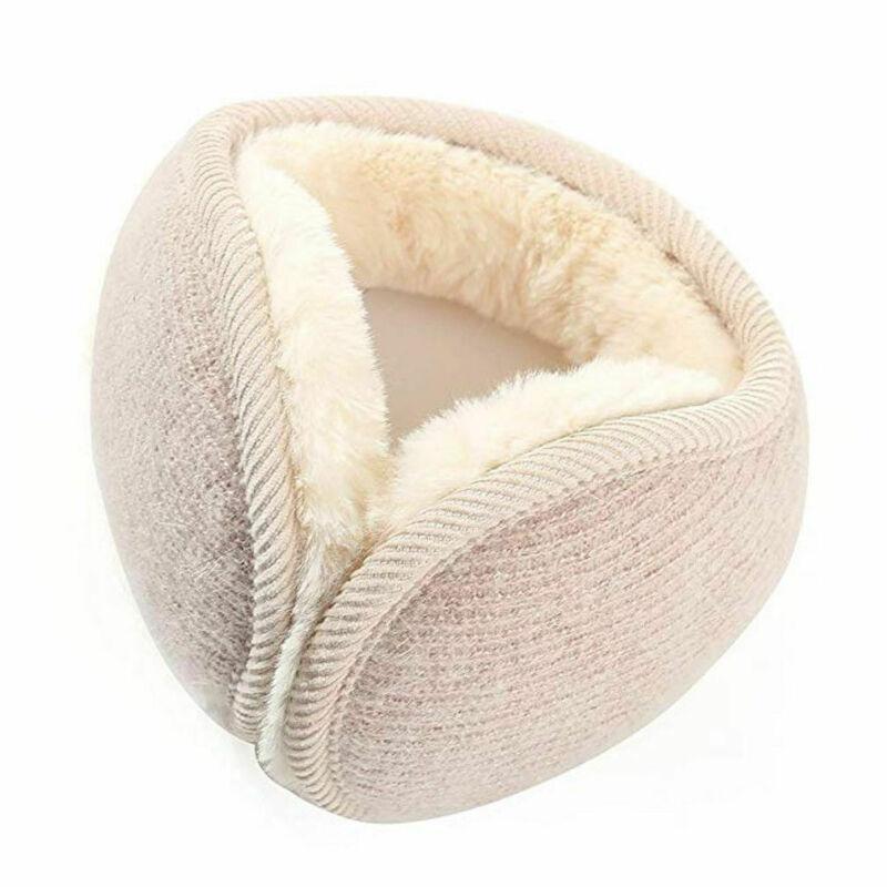 2020 New Fashion Winter 1pc Warm Unisex Plush Earmuffs Ladies Comfort Ear Warmers Muffs Fashion Solid Pattern Type